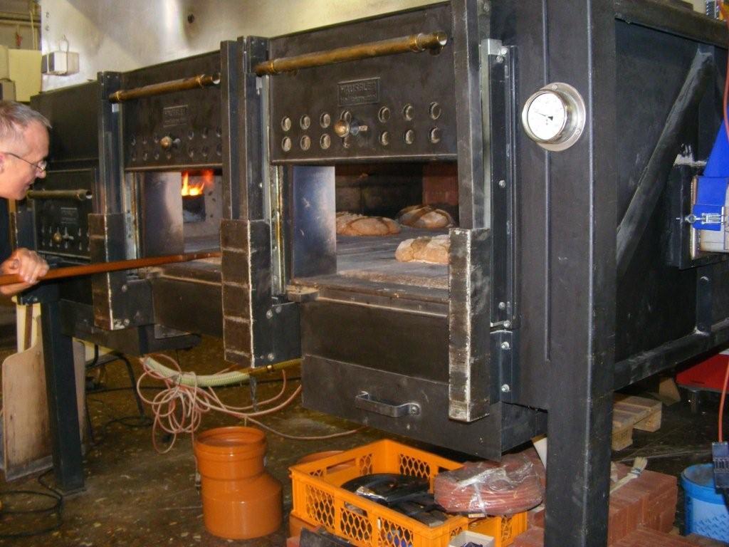 Häussler Backofen der Bäckerei Wentzlaff auf Pellets umgerüstet